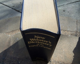 Vintage New Webster's Dictionary of the English Language