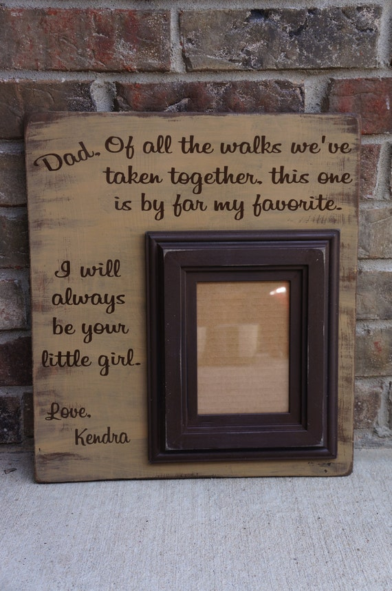 Custom Personalized Chunky Distressed Daddy Daughter Wedding