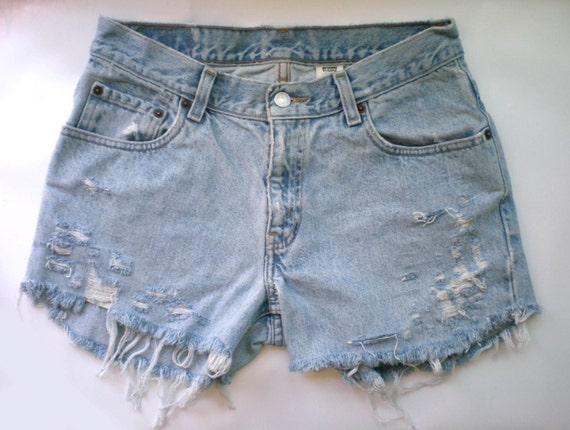 LEVIS Brand NEW Shredded Shorts One of a Kind LEVIS Shorts