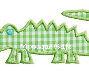 060 Alligator Machine Embroidery Applique Design