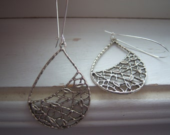 Teardrop Earrings - Wedding Earrings - Free Gift With Purchase