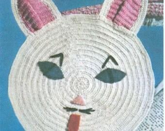 Kitten Baby Bib Crochet Pattern Pdf Instant Download