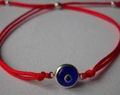 Evil Eye Red Kabbalah Bracelet