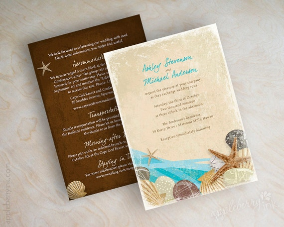 destination wedding invitations items similar to destination wedding invitation 3505