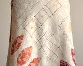 Gorgeous bias cut spring print skirt