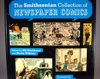 The Smithsonian Collection of Newspaper Comics Book, Comic Strips, Buster Brown, Flash Gordon, Popeye, Sunday Comics