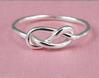 Infinity Ring / Love Knot Ring / Promise Ring / Tie The Knot Ring / Best Friend Ring / Sister Ring / Bridesmaid Gift