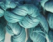 My Pedro -Teal Suri Alpaca Fingering Weight Yarn