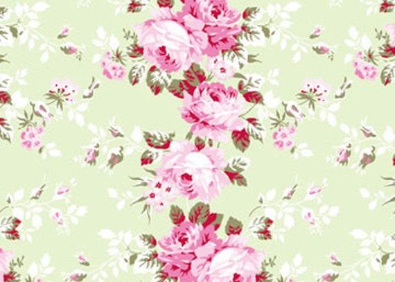 Rachel Ashwell Shabby Chic Fabric Yard Rose By Softplacetoland