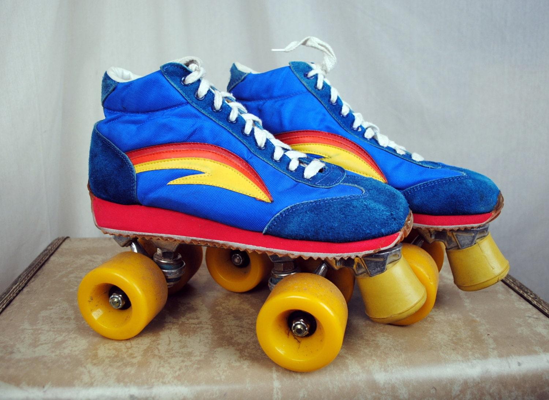 Roller skates rainbow -  Zoom