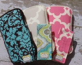 reserved! The Couture Mama Travel Baby Wipes Case and Diaper Strap- YOU Choose the Fabric