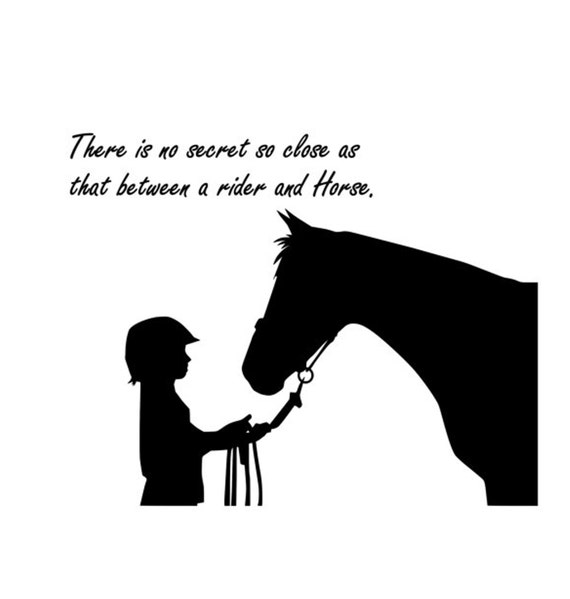 Horse Decal-Horse Sticker-Quote Decal-Horse Wall Decor-Quote