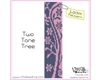 Loom Pattern: Two Tone Tree - INSTANT DOWNLOAD pdf - New Discount codes - bl20