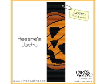 Loom Bracelet Pattern - Heeere's Jacky -  INSTANT DOWNLOAD pdf -Discount codes are available