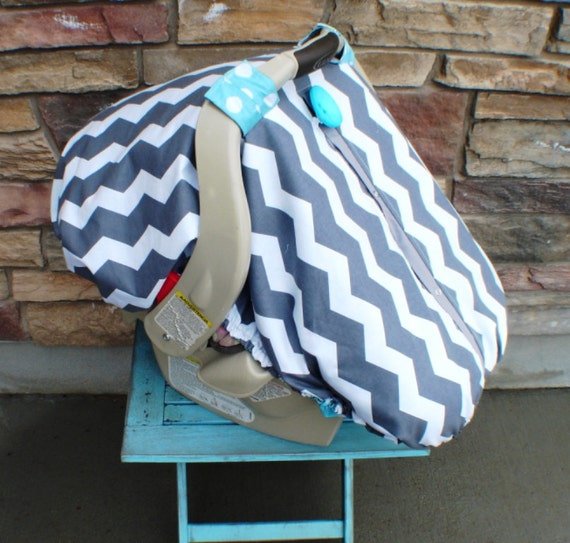 Fitted car seat canopy  / Car seat cover / car seat canopy / carseat cover / carseat canopy / nursing cover