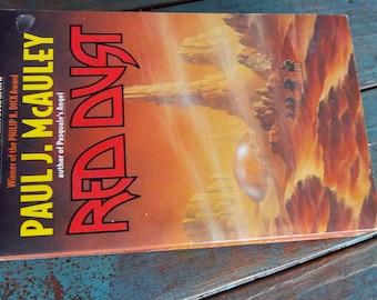 Vintage Red Dust Paperback Book