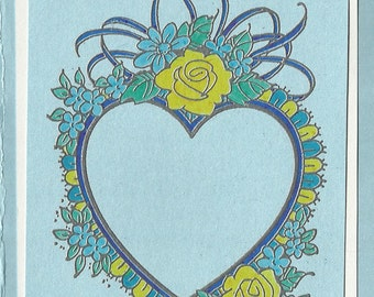 Layered Lacy Heart