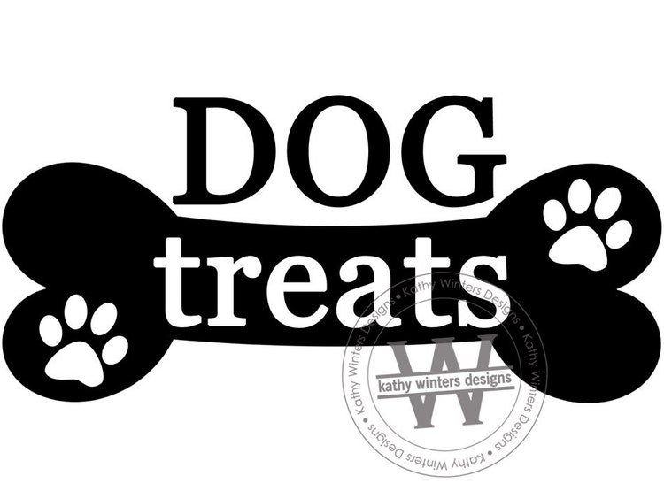 Vinyl Container Label Dog or Cat Treats by KWintersDesigns