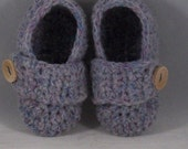 Crocheted Baby Boy Shoes Pattern,  Newborn to Six Months  A6