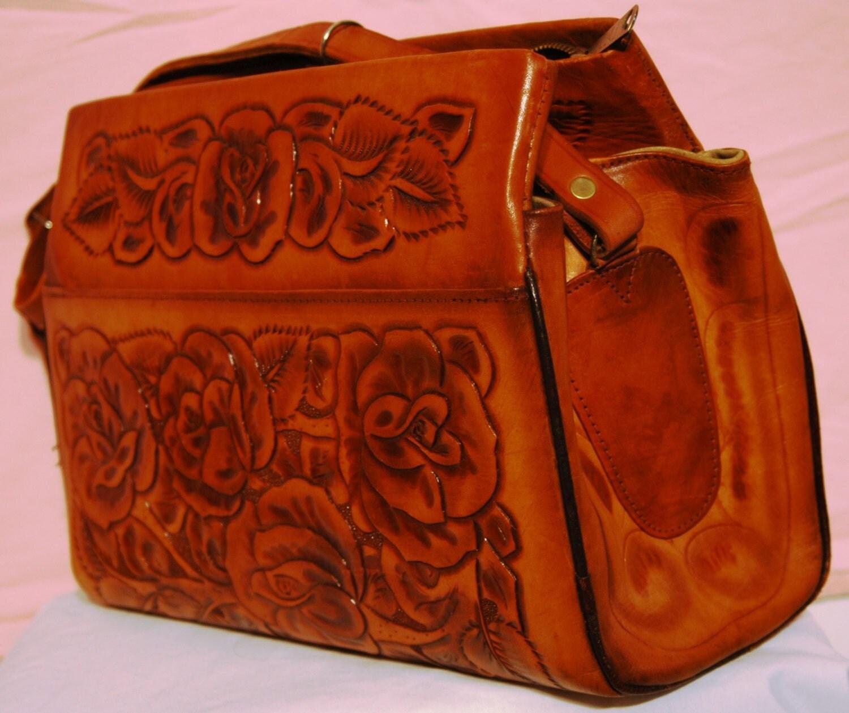 Vintage Hand Tooled Leather 98