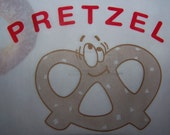Pretzel Bags Perfect For Movie Night- Circus or Carnival Themed Parties 24 Vintage Inspired Graphics Bags Smiling Pretzel
