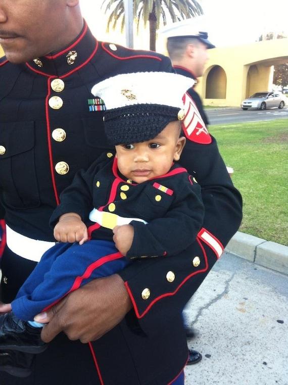 Marine Baby Usmc Dress Blues Marine Corps Hat You Pick The