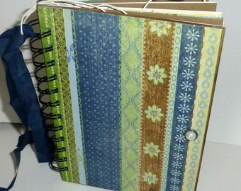 SALE...SALE...Girl Scout Themed  Journal-- Memory book