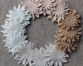 Fresh Linens - Asters - 36 Die Cut Wool Blend Felt Flowers