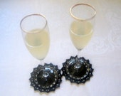Black Coasters set of 2