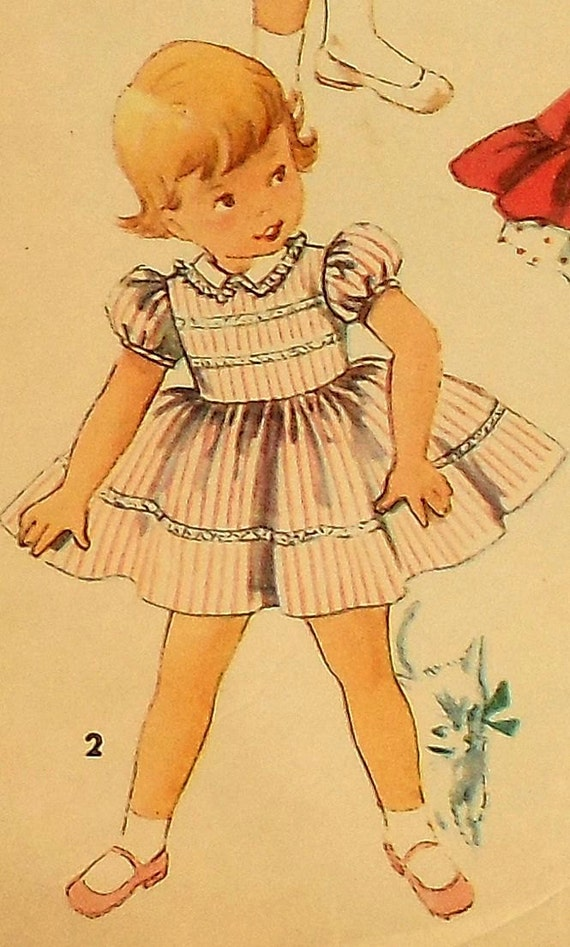 Simplicity Patterns Of Toddler Party Dresses - Plus Size Tops