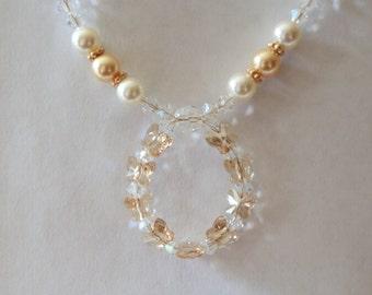 Golden Butterfly Splendor Necklace