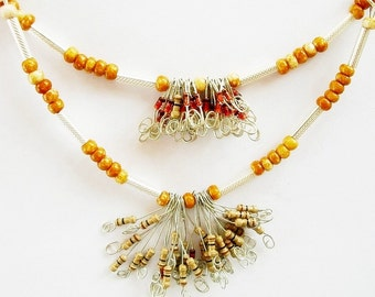 I Cannot Resist this Resistor Necklace