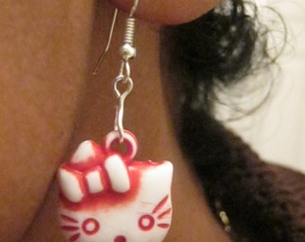 Kit Kat - Cat Earrings