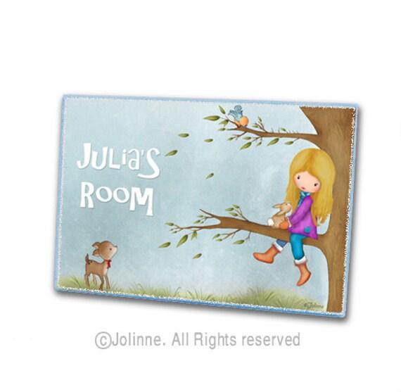 Personalized Door Sign Kids Door Signs Door Sign Custom By