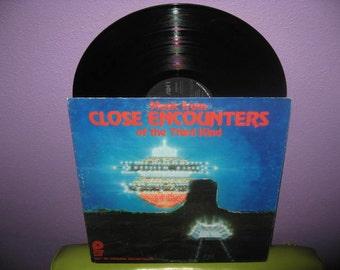 SHOP CLOSING SALE Vinyl Record Album Music From Close Encounters of the Third Kind Lp 1978 Sci Fi John Williams Classic