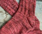 KNITTING PATTERN-Twisted, Sock Pattern