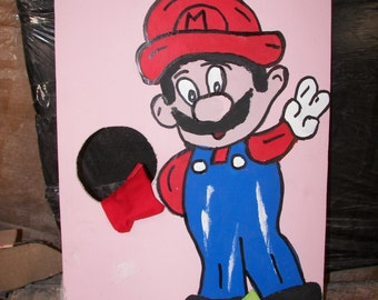 New  Mario  Corn hole  game   with 4 bean bags