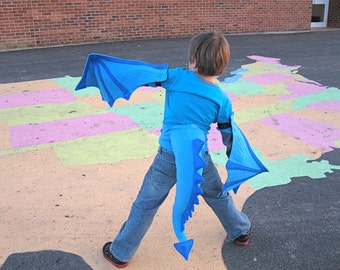 Dragon Tail and Wings Set for Kids of All ages - perfect for SToMpING AND SOARing