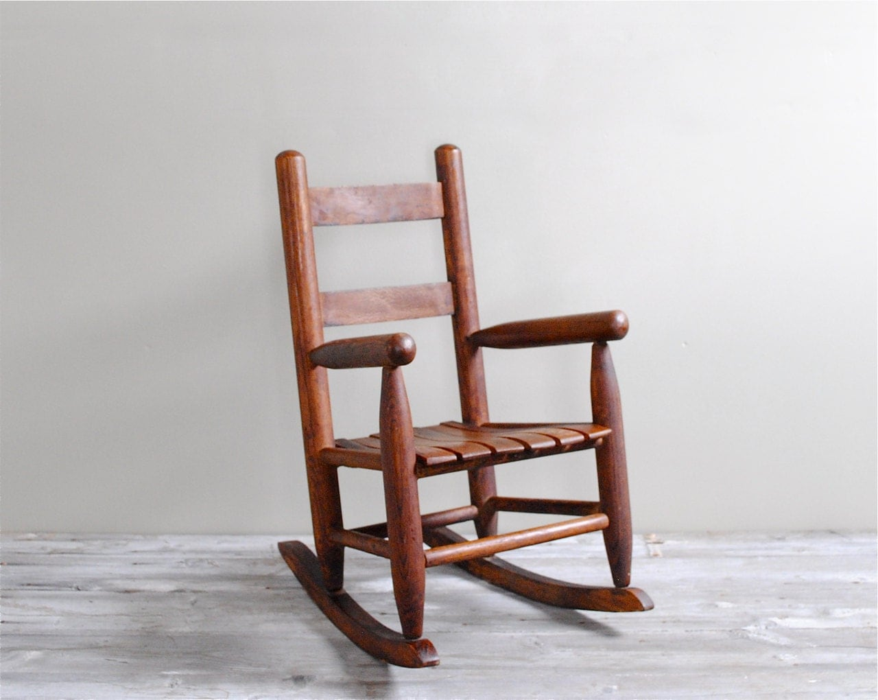 Vintage Childs Rocking Chair by LittleDogVintage on Etsy