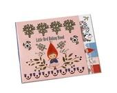 Shinzi Katoh die-cut One Point Sticker / Little Red Riding Hood (Tree)