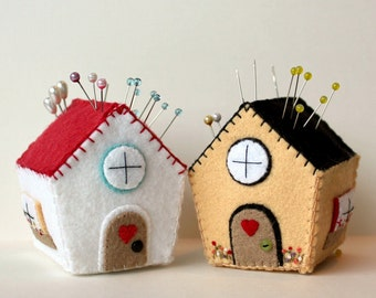 Pincushion Cottage pdf Pattern - Instant Download
