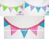 Custom Party Banner - Build Your Own - great for birthdays high - chair decoration - showers nursery and wedding decor