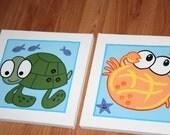 Something's Fishy' Ocean Kids Artwork