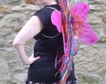 Rainbow Rapunzel Hair Fall