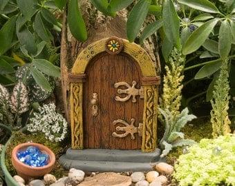 Brown Fairy Door