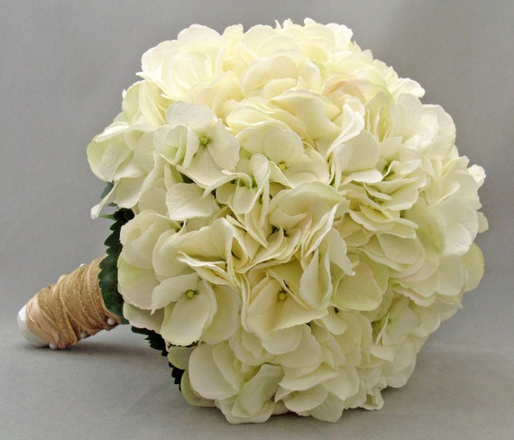 white hydrangea wedding bouquet bridal bouquet white silk hydrangea groom s boutonniere 1342