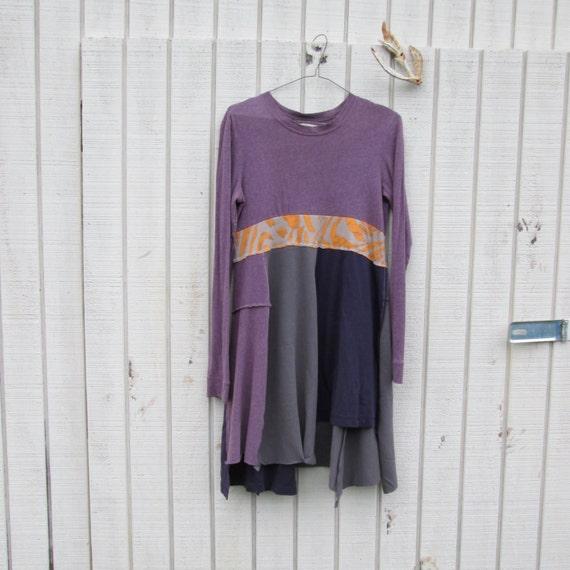 Xsmall Medium Upcycled Clothing / Funky Dress / By CreoleSha