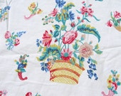 Vintage Williamsburg Twin Sheets Set Colonial Designs Foundation