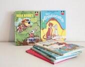 set of 5 vintage disney books