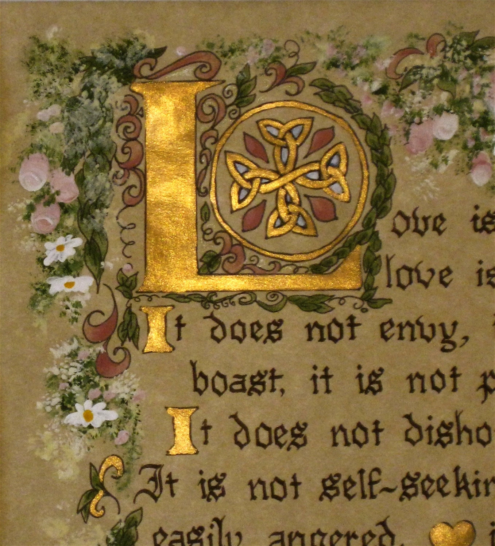 Calligraphy Custom Calligraphy Victorian I By Ashleychristines